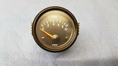 VDO 52mm 10bar OIL PRESSURE GAUGE