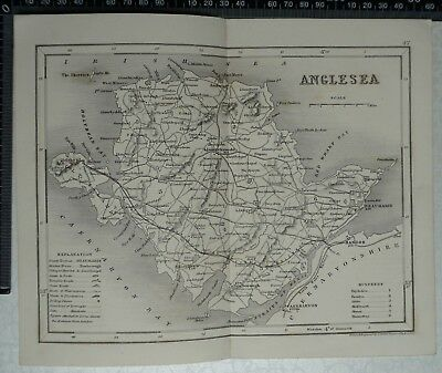 1846 Archer / Dugdale Map of Anglesea