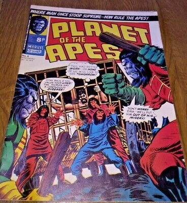 Planet of the Apes Marvel comic no 8