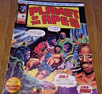 Planet of the Apes Marvel comic no 4