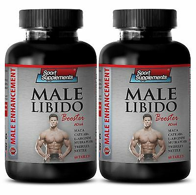 Organuic Nettle - Male Libido Booster 1270mg - Best Male Sexual Supplements 2B