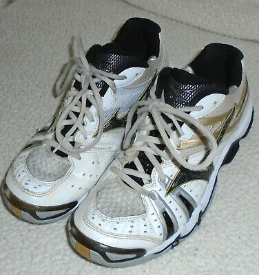 MIZUNO WAVE TORNADO 7 Womens Volleyball Court Shoes White