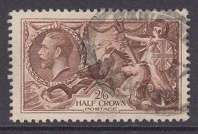 GB KGV 2s.6d. Chocolate-Brown SG450 2/6 SEAHORSES George V 1934 Very Good Used