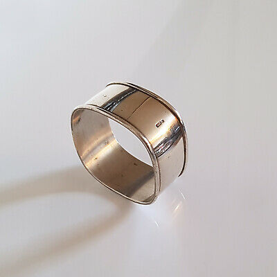 VINTAGE SILVER PLATED NAPKIN RING MADE by KELTUM - COLLECTORS PIECE