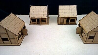 COTTAGES SCENERY TERRAIN warhammer AOS 28mm wargames