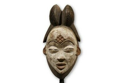 "Lovely Punu Okuyi Face Mask 12.5"" - Gabon"