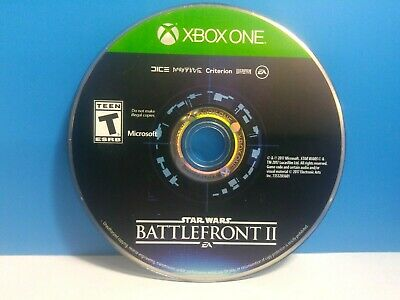 Star Wars: Battlefront II (Xbox One, 2017) disc only(19569