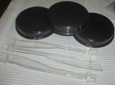 Stands Lot Ss45 Barbie Doll Black Plain  Round Base Standard Straddle Accessory