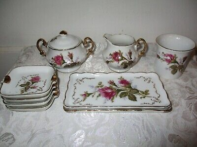 ROYAL SEALY Moss Rose China - Lot Of 10 Pieces - Excellent Condition