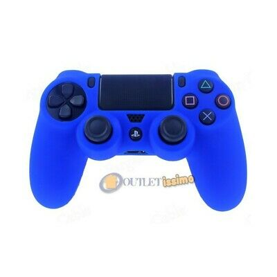 Custodia Cover Silicone Controller Joystick Pad Sony Playstation 4 Ps4 Blu