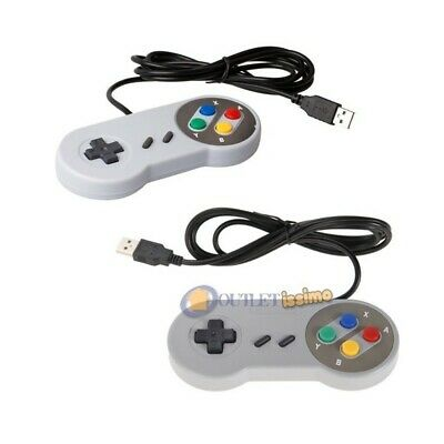Set 2 Snes Joypad Usb Classico Gamepad Snes Mame Per Raspberry Mame Nintendo Pc