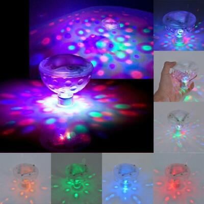 4 Led Floating Underwater Disco Light Glow Show Swimming Pool Hot Tub Spa Lamp Buy One Give One Led Lamps