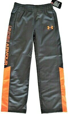 1259601 Gray Under Armour Boys/' UA Essential Warm-Up Pants
