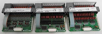 (2) Allen-Bradley SLC500 1746-IA16 *AND* (1) SLC500 1746-IB16 Input Modules