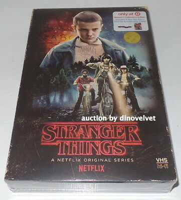 Stranger Things Season 1 Bluray Target Exclusive Collector's Edition+ Poster New