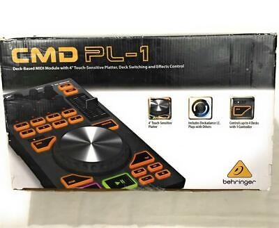 "Behringer CMD PL-1 MIDI Module With 4"" Touch-Sensitive Platter Controller"