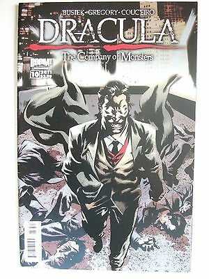 Dracula: The Company Of Monsters # 10 (First Printing, May 2011), Nm