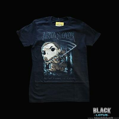 Funko Pop! Tees Arya Stark Needle Shirt Gendry Game of Thrones HBO Pop Small