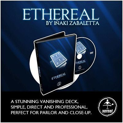 Ethereal Deck DVD  by Vernet  - Magic Tricks
