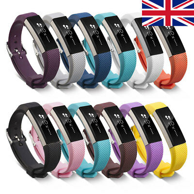 Replacement Silicone Wristband Pin buckle Watch Band Strap For Fitbit Alta HR
