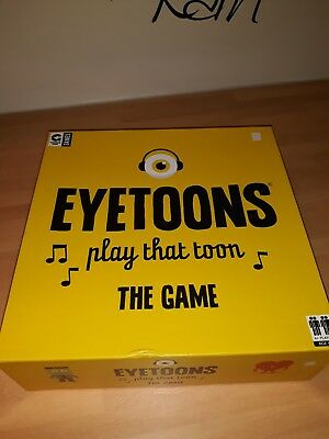 Eyetoons Board Game Music Knowledge Challenge After Dinner Family Party Game