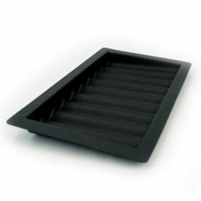 2 Thick ABS plastic 9 row poker & blackjack chip tray