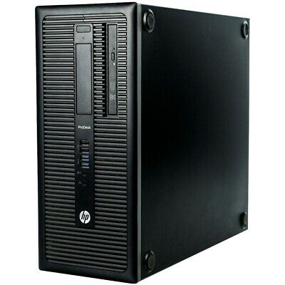 HP ProDesk 600 (4th Generation Intel Core i5-4460, 3.2GHz, 8GB) 2TB HDD