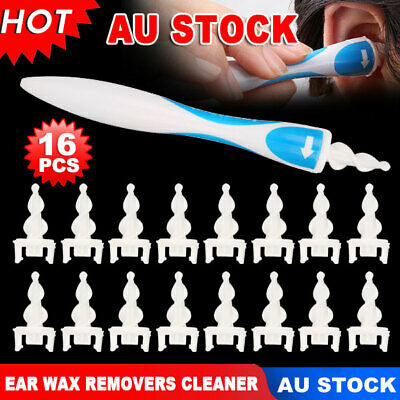 Soft Ear Wax Cleaner Removal Multi Earwax Remover Spiral Safe Tip Earpick Tool