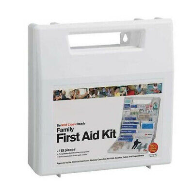 ACME UNITED 70NRzo1 1 EA Red Cross Family First Aid Kit 115 pc 9161-RC