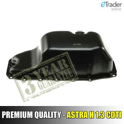 For Vauxhall Astra H MK5 2004-2009 1.3 CDTI Diesel Steel Engine Oil Sump Pan NEW