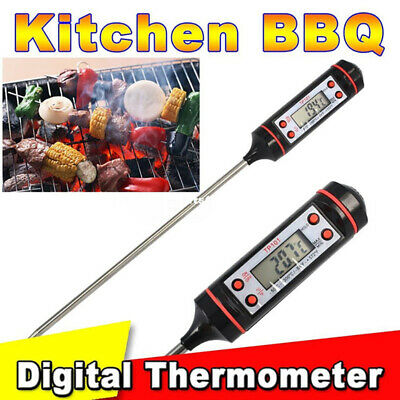 Digital Food Thermometer Probe Meat Turkey BBQ Kitchen Catering Cooking Sensor