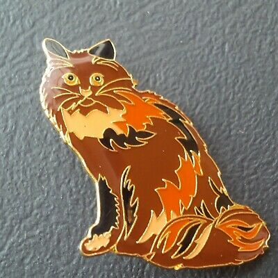 Pin badge pin's BROOCH BROCHE CHAT persan  animaux animal