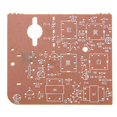 Components 7 Tube AM Radio DIY Kit Learning 525~1605KHZ Assembly Fittings New