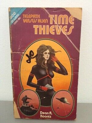 Time Thieves by Dean Koontz, Against Arcturus by Susan Putney, ace double, 1972