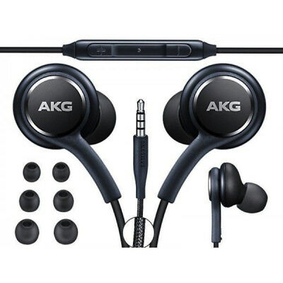 Original Black AKG Samsung Earphones Headphones For Galaxy S8/S9/S9 Plus Note8
