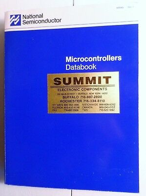 1989 National Semiconductor Microcontroller Databook Rev 1 ~ COP400/800 Family
