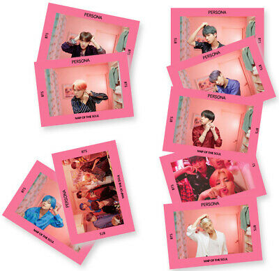 1pc Kpop BTS BOY WITH LUV PVC Clear Photo Card Jungkook V Collective Photocard