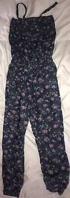 Lovely Bundle Of 2 Girls Used Playsuits Age 6-7 Years inc. GEORGE