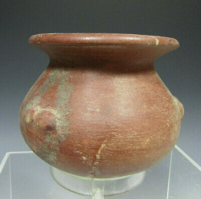 Pre Columbian Colombia Redware Pottery Bowl Quillacinga culture 200 - 1100AD