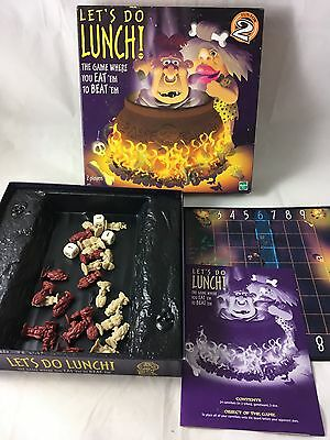 Hasbro Let's Do Lunch Board Game 2 Players Age 12+