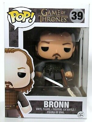 Funko Pop! Game Of Thrones Bronn #39 2016 With Protector