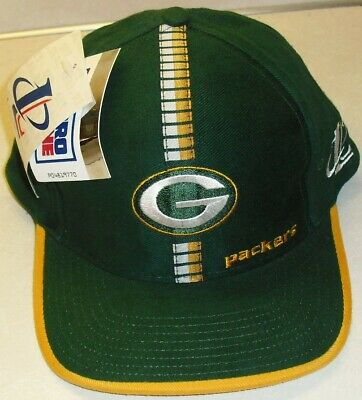 ad4cb44e6b2fe GREEN BAY PACKERS 90s Original Vintage (New Tags) Snapback hat Logo  Athletic NFL