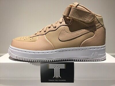 84df56d806620 NIKELAB NIKE AIR FORCE 1 MID Gr. 37,5 US 5 Triple White 819677 100 ...
