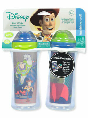 Disney Toy Story 2-Pack Insulated Sippy Cups (9 oz.)