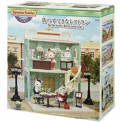 Doll not included Epoch Sylvanian Families TS-11 Town Series Chocolate Launge