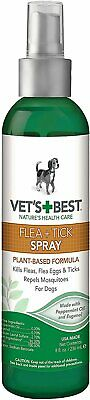 Vet's Best Flea + Tick Spray for Dogs, 8-oz bottle    (Free Shipping)