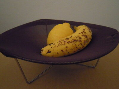 CHILEWICH fruit bowl small TRIPOD portafrutta BLU NOTTE