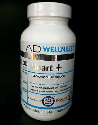 Project AD WELLNESS Heart+ Cardiovascular Support 90 Capsules