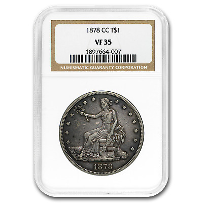 1878-CC Trade Dollar VF-35 NGC - SKU#191469
