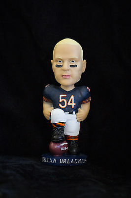 Brian Urlacher Chicago Bears AGP Bobblehead NIB  (New Hall of Fame Inductee)